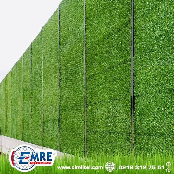 Grass Fence Facade Dressing