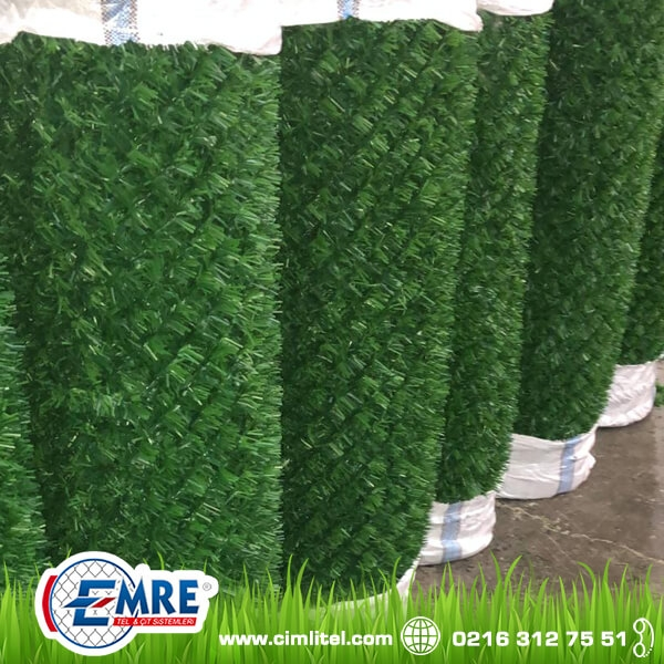 Grass Fence Wall Lining